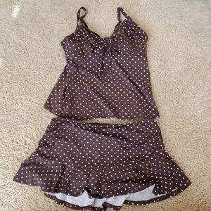 Lands End size women's bathing suit